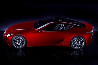 Lexus LF-LC - Sportwagenstudie mit Hybridantrieb