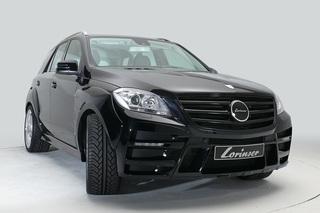 Mercedes ML-Tuning - Ein Offroader macht sich breit