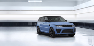 Range Rover Sport SVR Ultimate Edition - In Farbe gesetzt