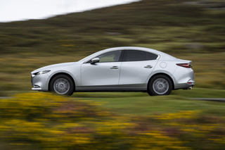 Mazda3 Fastback - Kräftig motorisiertes Stufenheck