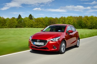 Facelift für Mazda 2 und CX-3              - Minimale Modifikatione...
