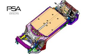 E-Auto-Plattform von PSA  - Eigene Basis für Stromer