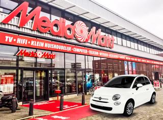 Fiat 500 Hybrid bei Media Markt - Online mietbar