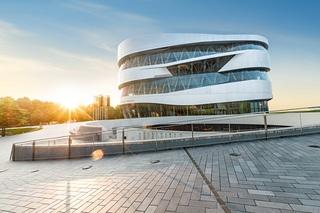 Mercedes-Museum in Stuttgart  - Virtuell geöffnet
