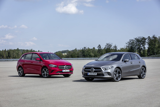 Mercedes-Benz A 250 e und B 250 e - Teilzeitstromer im Dreierpack