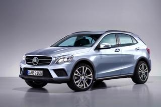 Mercedes GLA - Wieder ein Hochsitz in der A-Klasse