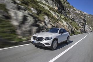 Test: Mercedes GLC Coupé 300 4Matic - Der Schick des hohen Ausstiegs