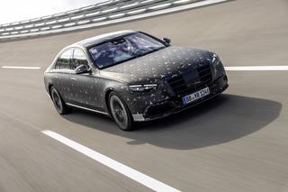 Neue Mercedes S-Klasse - Sicher ist sicher
