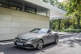 Fahrbericht: Mercedes Roadster SLC - Ein C für Zwei  (Kurzfassung)