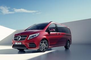 Mercedes V-Klasse: Zwei Editionsmodelle - Sportoptik und feine Extras