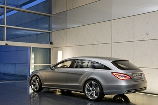 Mercedes CLS Shooting Brake - Kombi in edlem Gewand (Vorabbericht)
