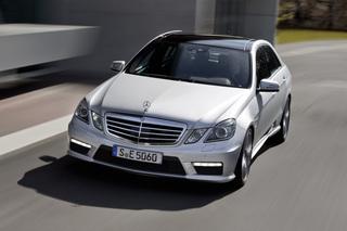 Mercedes E 63 AMG - Alter Name, neuer Motor (Vorabbericht)