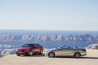 Mercedes E-Klasse Coupe und Cabrio - Neue Front, bekanntes Heck (Vo...