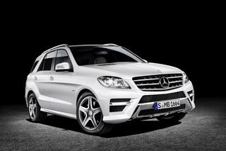 Mercedes M-Klasse - Sondermodell zur Markteinführung