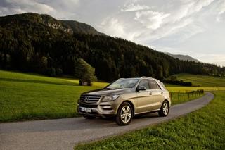Mercedes M-Klasse - Nun auch mit V8-Benziner und Kollisionswarner