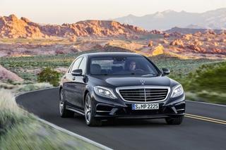 Weltpremiere Mercedes S-Klasse - Status denken