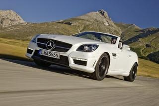 Mercedes SLK 55 AMG - V8-Roadster mit Vierzylinder-Modus