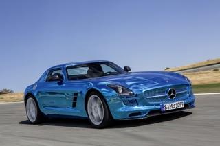 Mercedes SLS AMG Electric Drive - Mit vier Motoren an die Leistungs...