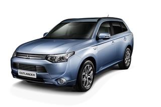 Mitsubishi Outlander PHEV - Den gibt es auch mit Stecker