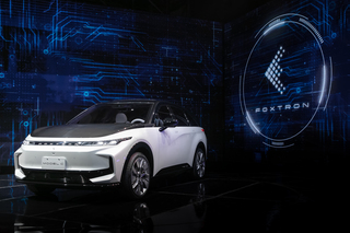 Foxconn zeigt drei E-Autos   - Riesen-Reichweiten und scharfe Sprin...