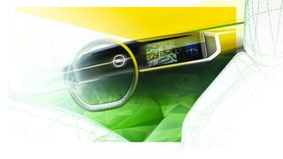 Neues Opel-Cockpit   - Breitband-Purismus