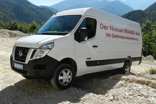 Nissan NV400 mit Allradantrieb - Ein Transporter fürs Gelände