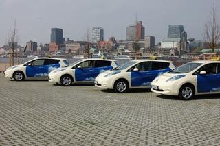 Nissan Leaf E-Taxi - Umweltfreundlich zum Ziel
