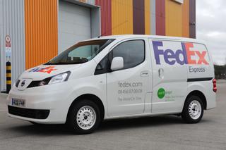 Nissan NV200 EV - Umweltfreundlicher Paketdienst
