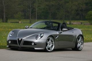 Alfa Romeo 8C - Mehr Druck von Novitec