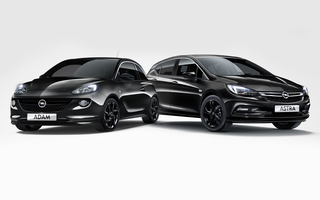 Opel BVB-Sondermodelle - Schwarz und handsigniert