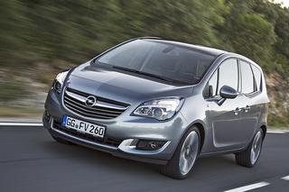 Opel Meriva - Sparsam überarbeitet
