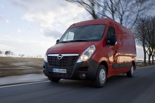 Opel Movano - Mehr Last und Start-Stopp