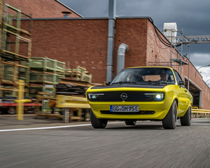 Fahrbericht: Opel Manta GSe ElektroMOD - Geschichte könnte sich wie...