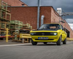 Opel Manta  - Rückkehr mit E-Motor