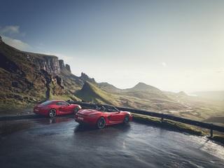 Porsche 718 T  - Das T steht für Purismus