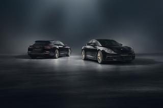 Zehn Jahre Porsche Panamera - Goldiges Sondermodell zum Geburtstag