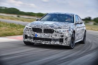 Der neue BMW M5 - Jetzt mit Allradantrieb
