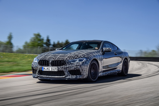 BMW M8  - Mehr Konfigurationsmöglichkeiten für den aktiven Fahrer