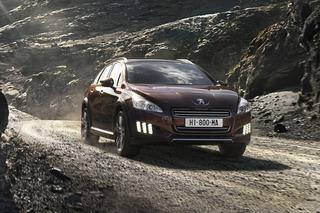 Peugeot 508 RXH - Offroad-Kombi mit Öko-Antrieb