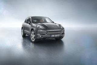 Porsche Cayenne als Sondermodell - Platin statt Chrom