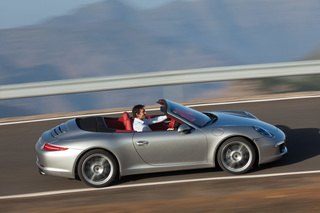 Porsche 911 Cabrio - Offenes Vergnügen