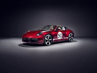 Porsche 911 Targa 4S Heritage Design Edition  - Retro-Renner