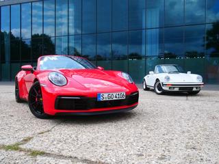 Familientreffen: Zweimal Porsche 911 Carrera Cabrio - Die Sonnensei...