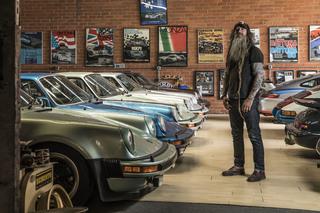 """Panorama: Zu Hause bei Porsche-Sammler Magnus Walker - """"So verrückt..."""