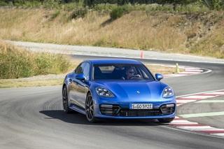 Fahrbericht: Porsche Panamera Turbo S E-Hybrid  - Der 911 für die g...