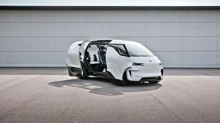 Porsche öffnet Vision Renndienst Concept - ID.Buzz aus Zuffenhausen
