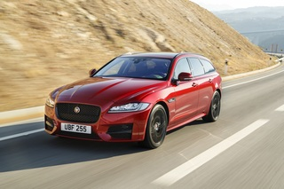 Test: Jaguar XF Sportbrake  - Really different