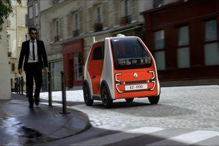 Renault EZ-Pod - Autonomer Däumling