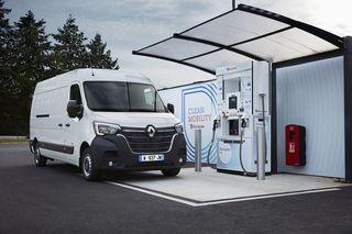 Renault Kangoo und Master Z.E. Hydrogen - Große Reichweite dank kle...