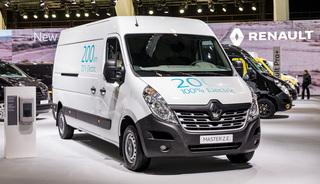 Renault Master ZE  - Aufladen und Einladen